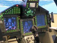 Indra desarrolla un nuevo simulador para el avión Eurofighter Typhoon