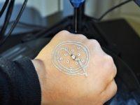 Impresión 3D para crear sensores para la piel
