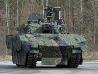 El Army's Mobile Protected Firepower de General Dynamics combina la potencia de fuego de su última torre Abrams con un chasis basado en el AJAX del Reino Unido.