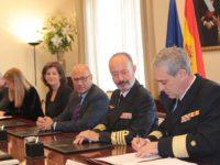 El coronel de Intendencia Alfonso Torán firma la Orden de Ejecución de las cinco F-110