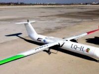 UAV chino LQ-H, movido por célula de hidrógeno y baterías