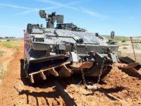 GDELS-SBS presenta en FEINDEF el Vehículo de Combate de Zapadores (VCZAP)