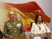 Margarita Robles inaugura FEINDEF 2019 pero no visita la zona expositiva