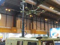 Navantia presenta su Vehículo de Vigilancia Terrestre con el UAS de SDLE