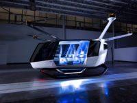 El Primer prototipo de coche volador propulsado por hidrógeno