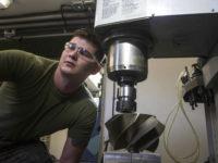 El Cuerpo de Marines de EE.UU. probó piezas impresas en 3D en sus tanques M1A1 Abrams. Imagen: USMC