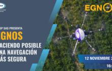 EGNOS: navegación satelital más segura para drones se presenta en secuDrone