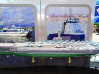 Rusia presenta un nuevo diseño de portaaviones