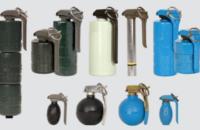 En el extremo izquierdo, el sistema de granadas Mark 21