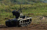 El UGV de Nerekhta (Cortesía del Ministerio de Defensa de Rusia)