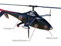 Helicopter 'hybrid' dron (UAVenture)